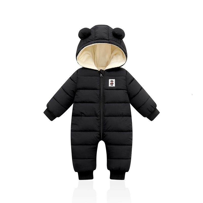 Giacca inverno infantile Giacca per bambini con cappuccio tuta invernale per neonata Boy Parkas per baby pagliaccetto snowsuit abiti neonati 201128