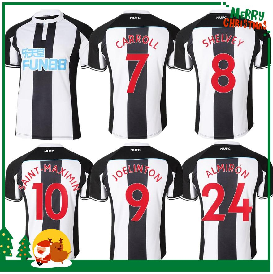 Newcastle 21 22 Perez Rondon Jersey Jersey Joselu 2021 2022 Home Away Terceiro Ritchie Longstaff Hayden Kenedy Football Shirt