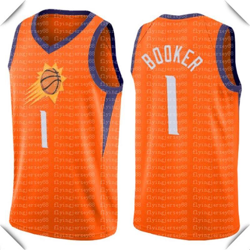 Orange Devin 1 بوكر جيرسي كريس 3 بول الفانيلة ستيف 13 ناش الرجعية شبكة السلة كرة السلة S-XXL الأسود الأرجواني الأبيض