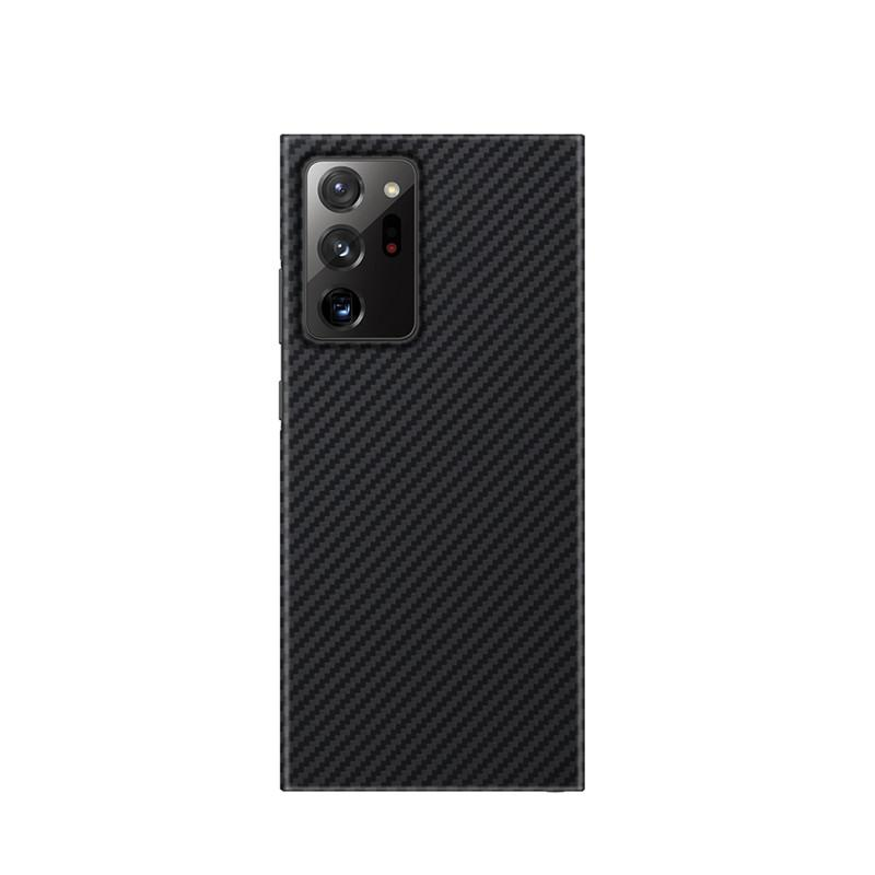 Pure Carbon Fiber Ultra-Thin Mobile Phone Cases Shell For Samsung S10 S20 FE S21 Ultra Note 20 Shockproof Anti-Drop Full Cover