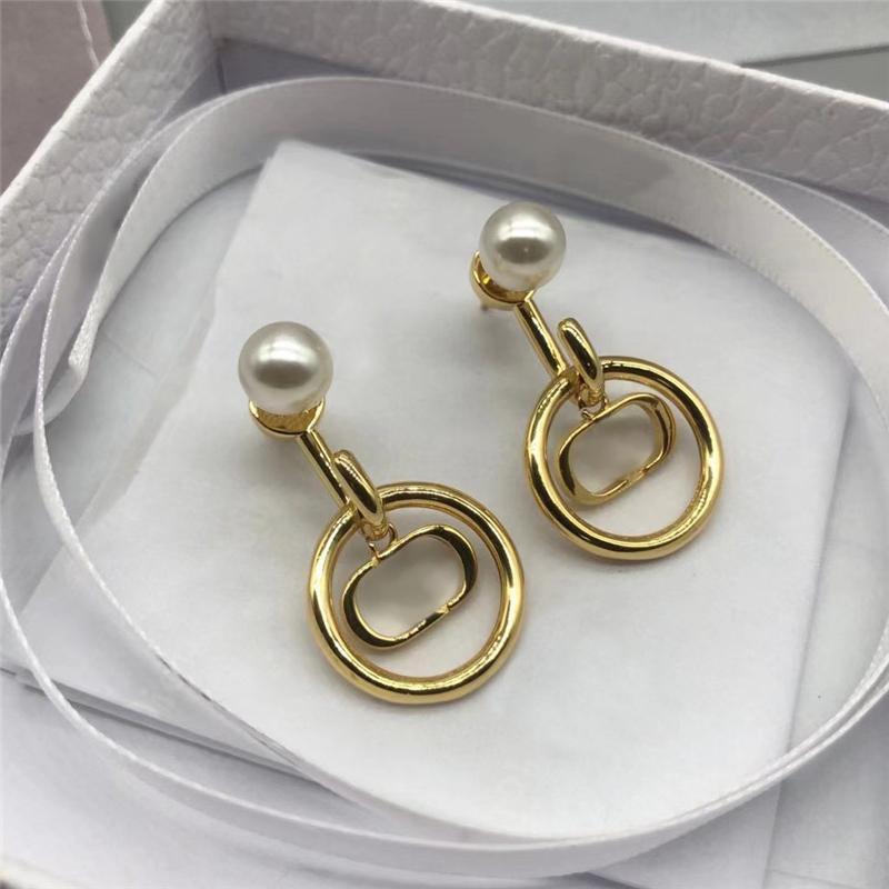 Orecchini di moda orecchini oro orecchini da donna designer perle di designer per le perle per il regalo di nozze donna Amanti presenti 2021050701V