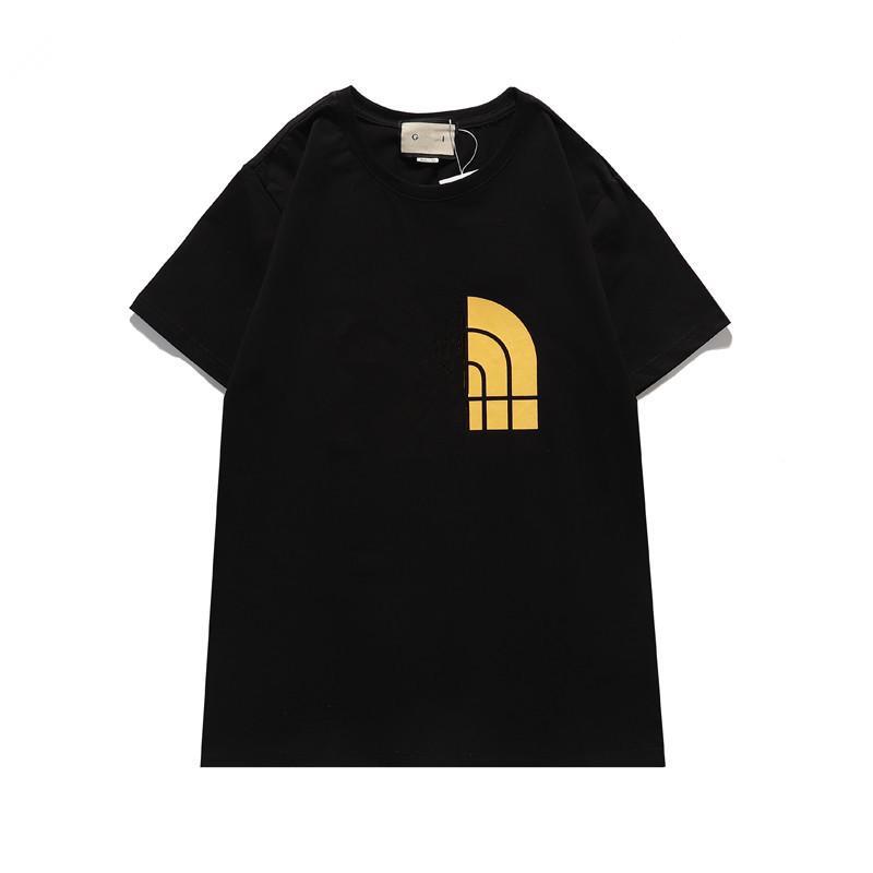 20SS Uomini T-Shirt Designer Lettera Stampa Crew 2021 Collo Casual Estate Estate Traspirante Mens T-shirt T-shirt a colori solidi Top Tees Grossista