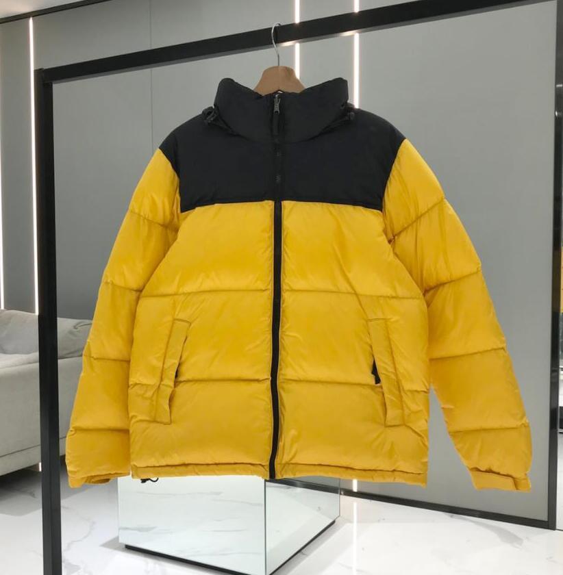 Kış Mektuplar Nakış Erkek Ceketler Ceket Sıcak Erkekler Kadınlar Kapşonlu Parkas Moda Tasarımcısı Aşağı Palto Rüzgarlık Ceket Casual Streetwear