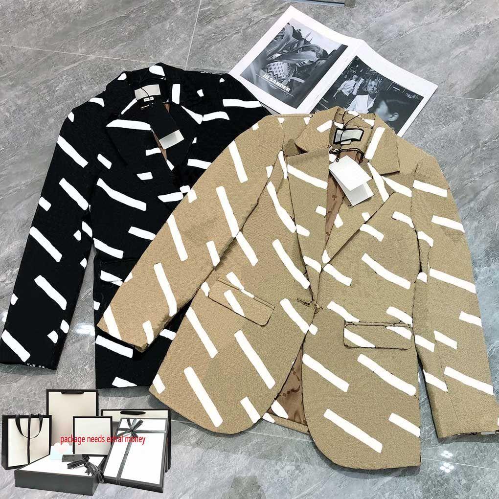21ss мода женская траншеи женские пальто случайные буквы печати ветровка элегантные удобные куртки осень зима высокого качества
