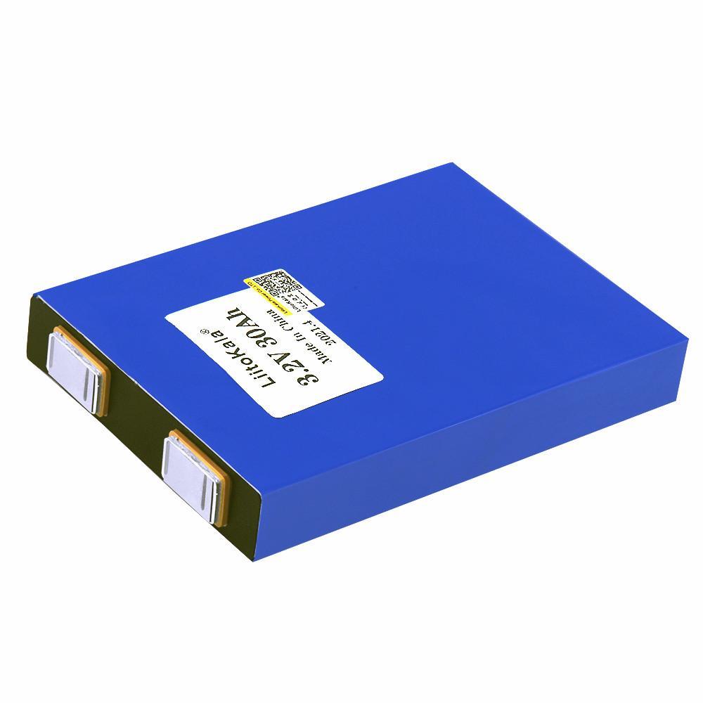 Liitokala 3.2V 30Ah LifePO4 5C литиевая батарея для лития для DIY 12V E-велосипеда и соревнований для гольф-тележки автомобилей Agv