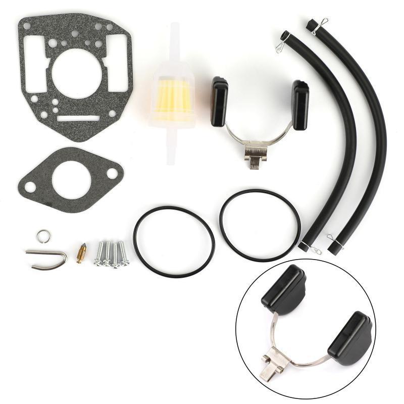 Sistema de combustível de motocicleta Syyourshop Fit para Onan 146-0657 P216G P218G P220G P224G Carburador Carb Rebuild Kit de reparação Acessórios Peças