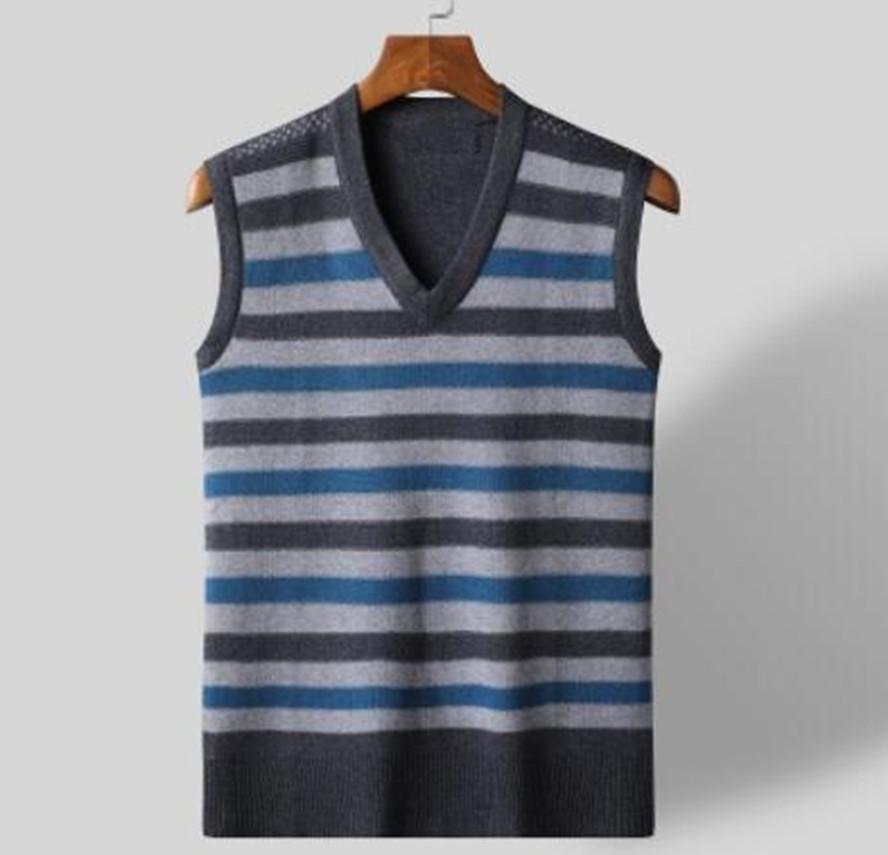 Männer Trikots Pullover Trend Koreanische ärmellose Strickjacke Herrenweste MAILOTS FOUT Camisetas de Fútbol AXCD