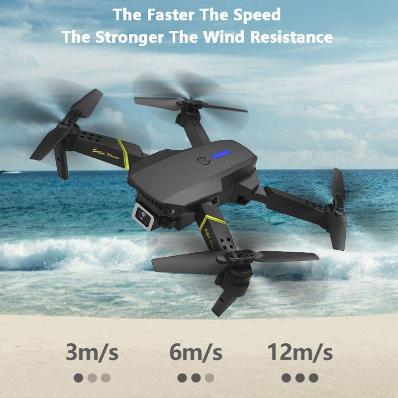 Global Drone 4K камера мини-автомобиль WiFi FPV складной профессиональный RC вертолет селфи дронов игрушки для детского батареи GD89-1