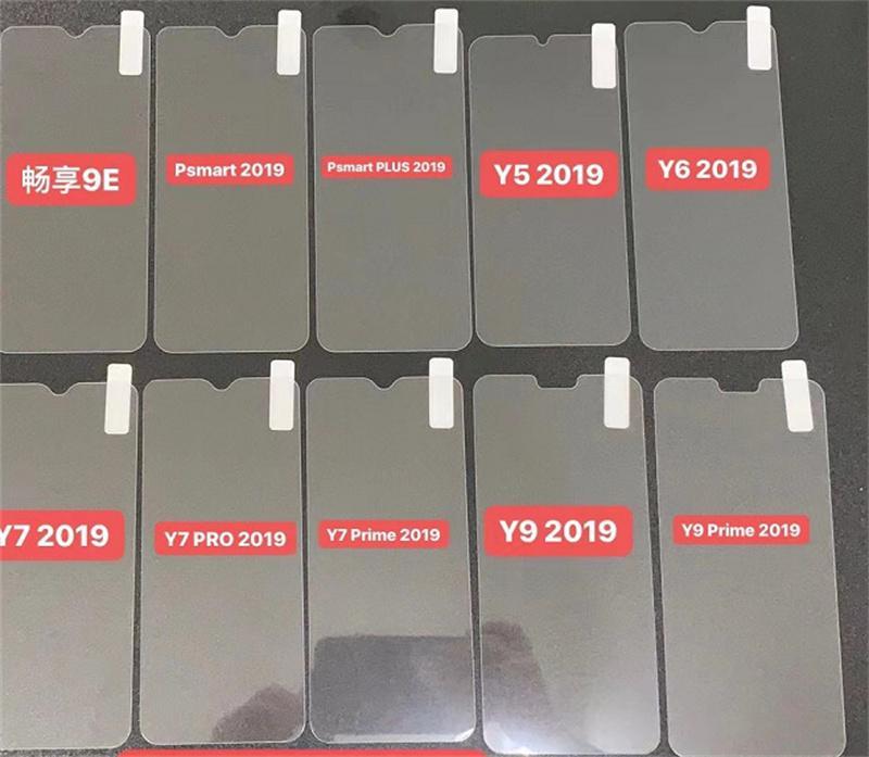 Protetor de tela de vidro temperado 0.3mm 2.5d 9h para iPhone 11 Pro Max X XS Max XR 6 7 8 Mais 5s
