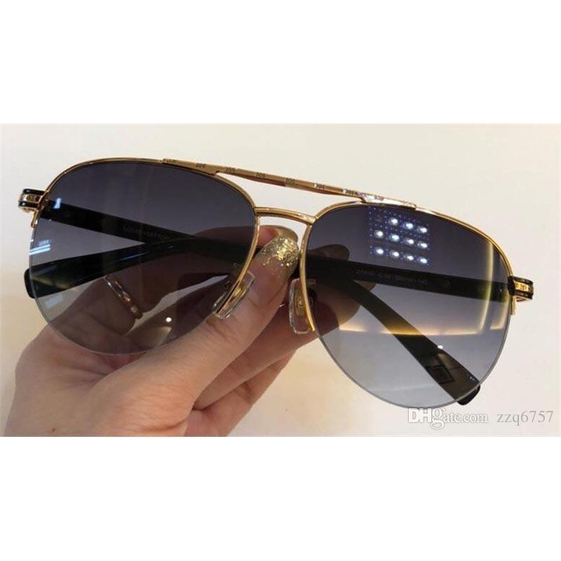 New Fashion Designer Sunglasses 0930 Pilota Mezza cornice Semplice stile popolare Protezione UV400 Protezione all'ingrosso Eyewear Top Quality with Box