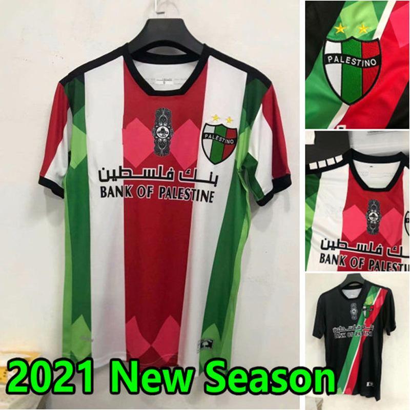 S-2XL 2021 Filistin Futbol Forması 21 22 Tayland Kalite Ev Uzakta Ulus Takımı Maillot de Futol Filestinian Filistinliler Filestino Rosende Futbol Gömlek