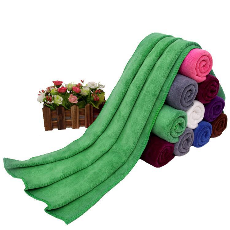 Reta 400g lã espessada 35 * 75 cabelos de cabelo de cabelo seco de cabelo absorvente toalha absorvente