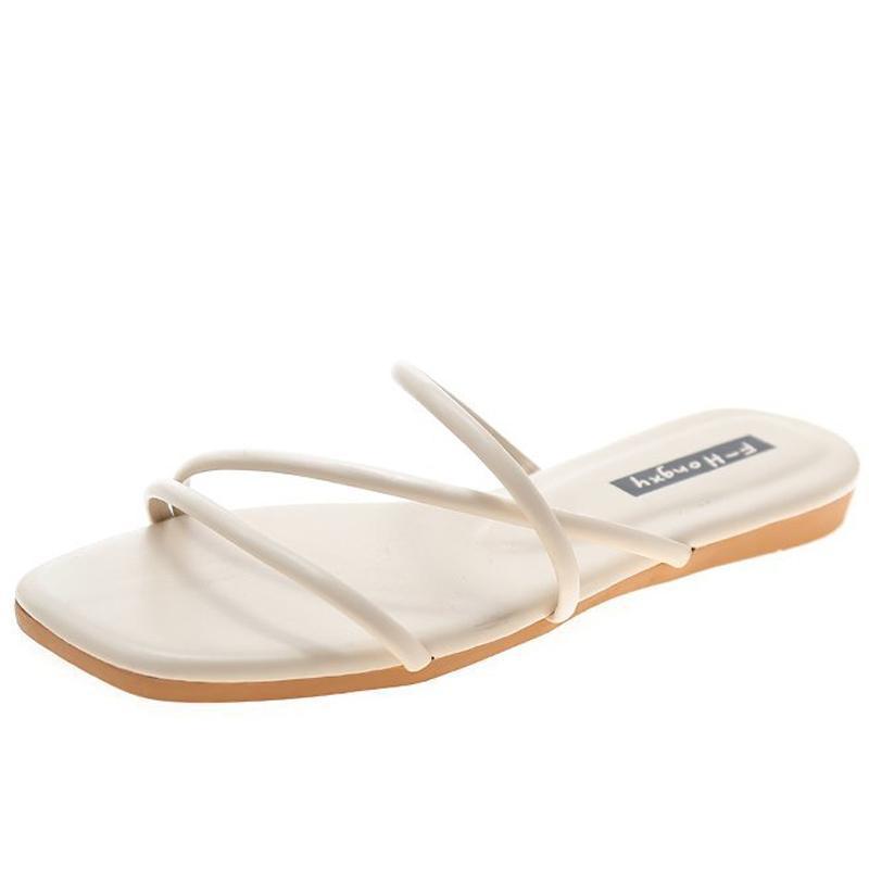 휴일 해변 여름 슬리퍼 플립 플롭 여성 신발 여성 야외 고품질