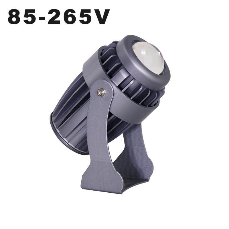 AC85-265V Faretto a LED LED 10W Luci per spot da esterno IP65 Impermeabile Fascio a lungo raggio Wall Washer Stage Effetto di illuminazione Altro