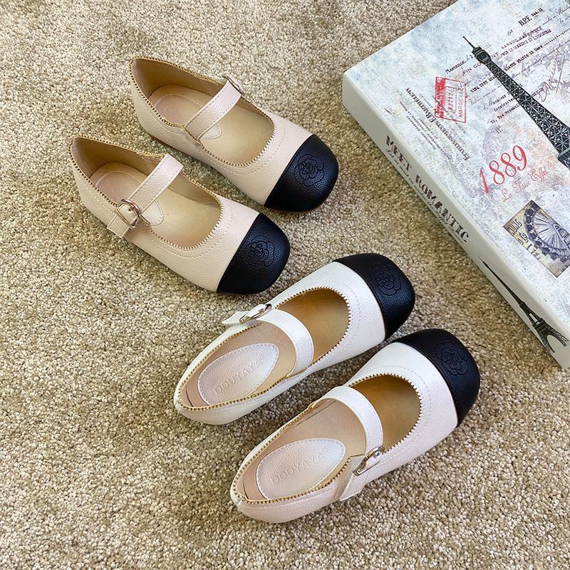 Wholesale baby School shoes cute Girls Camellia princess Shoes Performance Dance Shoes Dropshipping Plus Size