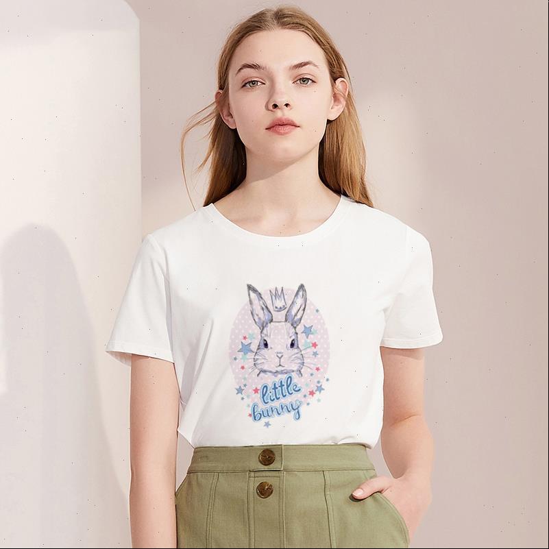 Tshirt frauen t shirts sommer casual tier hemd harajuku drucken mode kurze hülse femme weiße tops kleidung