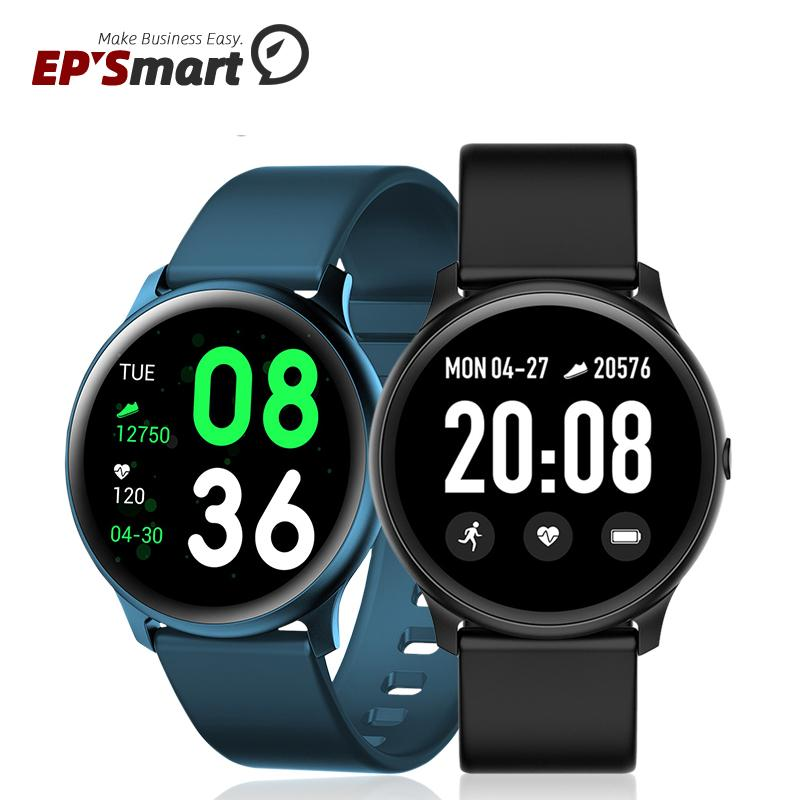 KW19 Smart Wristbands Watch Bracelet Fitness Tracker Touch 1.3 inch Screen Heart Rate Monitoring Smartwatch For Samsung Galaxy Active