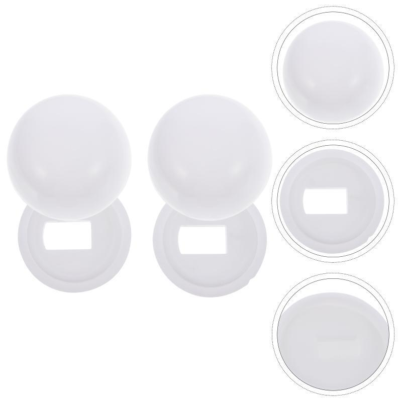 Toilet Seat Covers 2 Pair Of Stinkpot Bolt Cover Anchor Screw For Home
