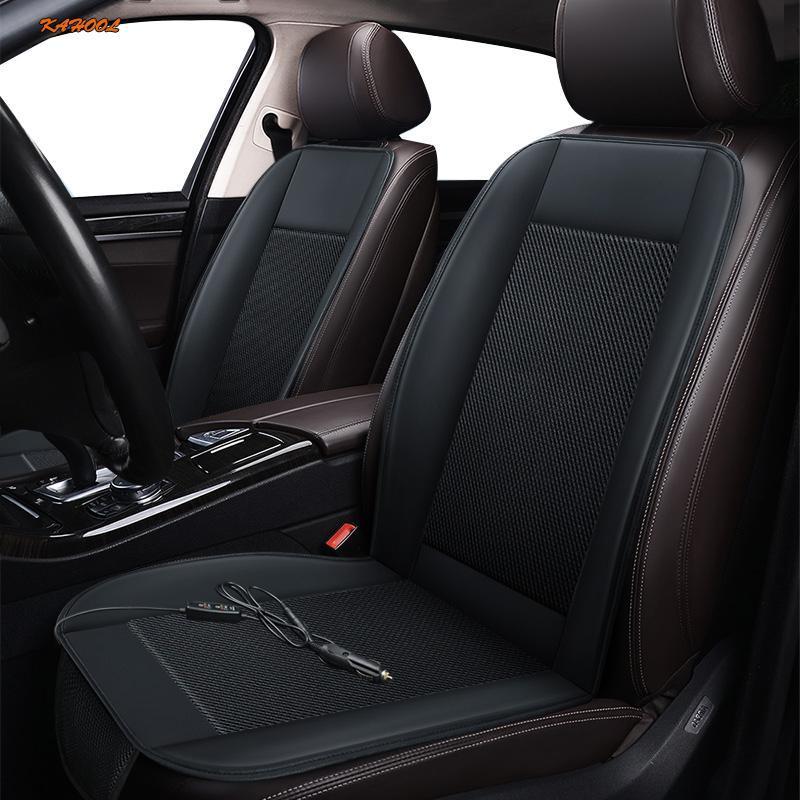 Autositzabdeckungen Kahool 12-V-Belüftung 1pc-Abdeckung für Infiniti Alle Modell QX30 ESQ Q50 QX70 Q70 QX50 M G FX Series Sommerkissen
