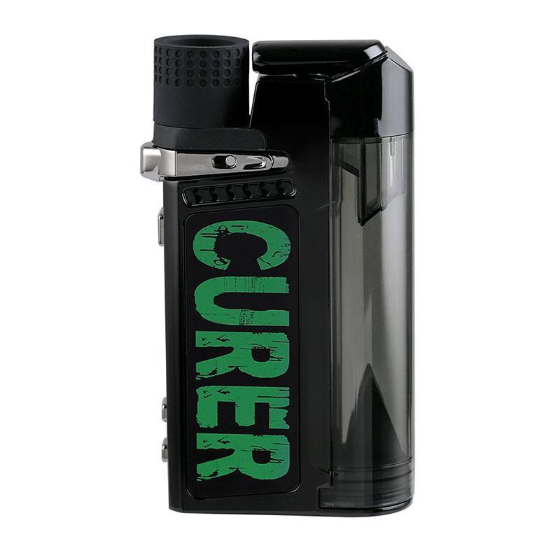Батарея для кухнителей 1600 мАч Батарея для сухого сухого воска травы 3in1 TC со сменной нагревательной катушкой Травяной воды Фильтр BONGS Vape Pipe BLK Вдова Yocan Hit