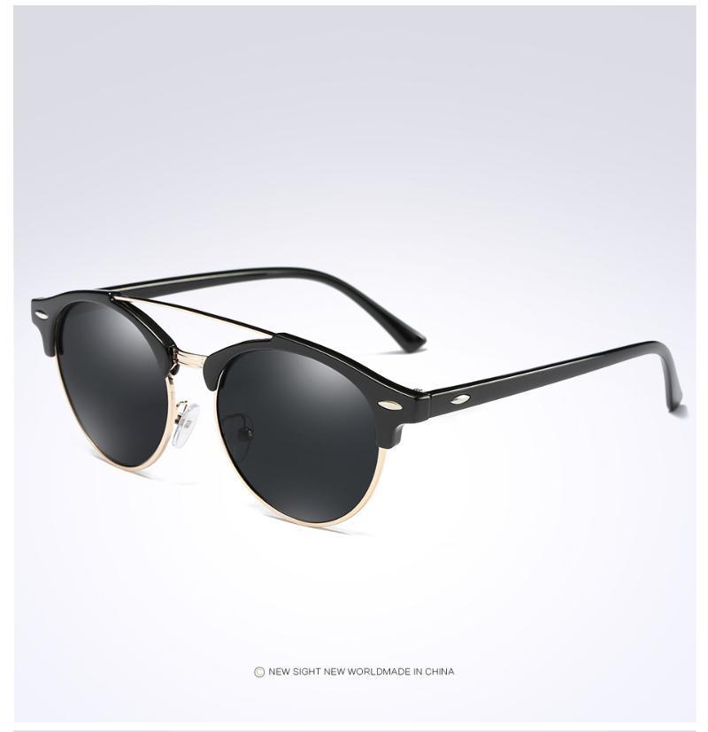 패션 여성 편광 선글라스 브랜드 고양이 눈 안경 숙녀 소녀 운전 태양 F4346