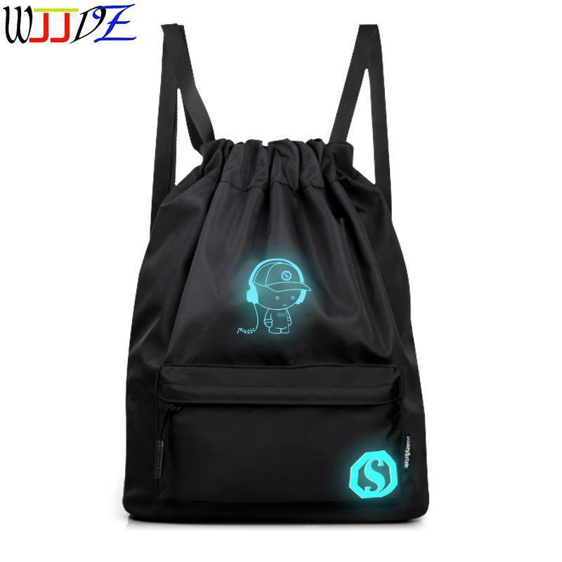 Bunchy جيب ناظر ظهره حقيبة مدرسية سعة كبيرة السفر الذكور المرأة حقيبة الكتف wjjdz