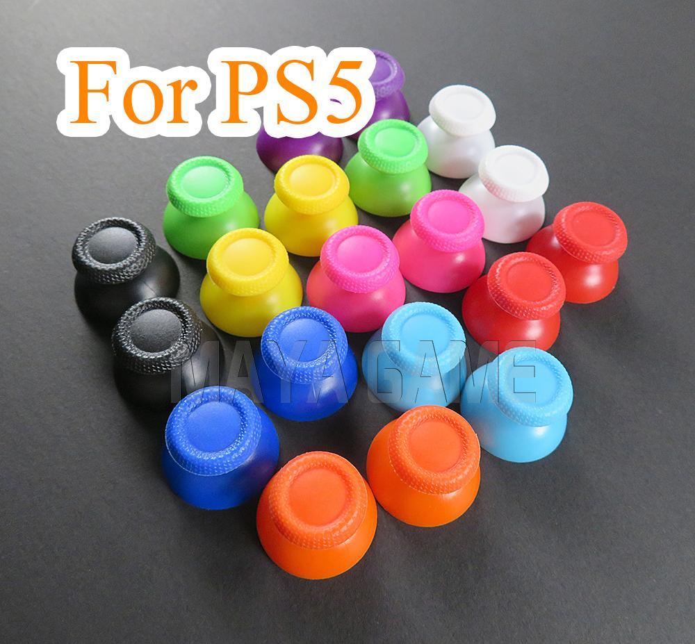 Красочный для Sony PlayStation PS5 GamePad контроллер для PS5 3D аналоговый джойстик большого пальца палку ручки крышки пальцы пальцы