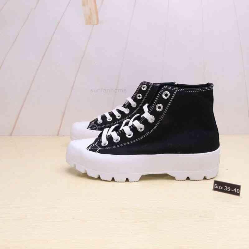 High-Caureitys Chuck Кожаная платформа Тейлор Холст Мужчины и Женщины Мода Легкая обувь EE