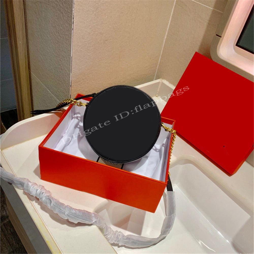 2021 luxe célèbre designer dame de dame sacs ronds de gâteaux paquets en daim doublure glaciaire ouverture de fermeture de la chaîne de chaîne de la chaîne de la chaîne de mode sacs à main croisée