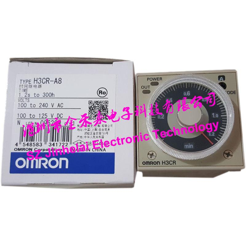 الأصلي H3CR-A8 Omron Time Time حاسبة الوقت الصلبة مؤقت الدولة AC100-240V