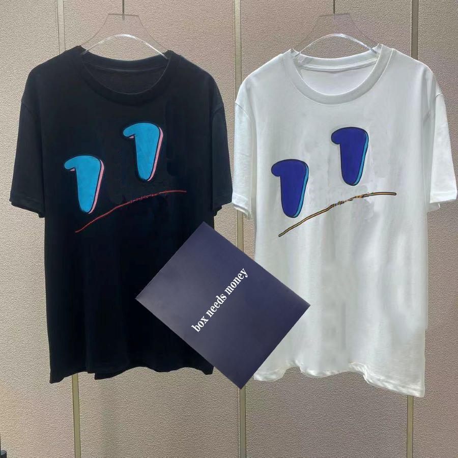 T Shirt erkek Mektup Baskı T-Shirt Gençlik Ekip Boyun Tees Erkek Moda Sokak Tee Yaz Nefes T-Shirt Yüksek Kalite Casual Tops