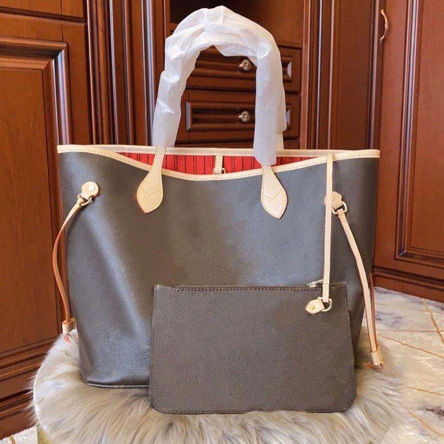 클래식 스타일 여성 핸드백 숙녀 럭셔리 디자이너 복합 가방 레이디 클러치 쇼핑 가방 어깨 totes 여성 지갑 지갑 크기 # 702