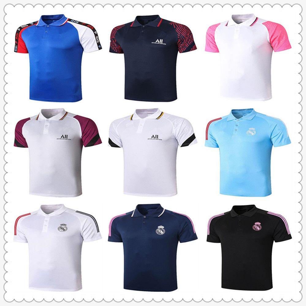 real madrid ajax olympique de marseille football jerseys 2020 2021 designer polo shirts men mens designer polo shirts camiseta maillot de foot soccer jersey