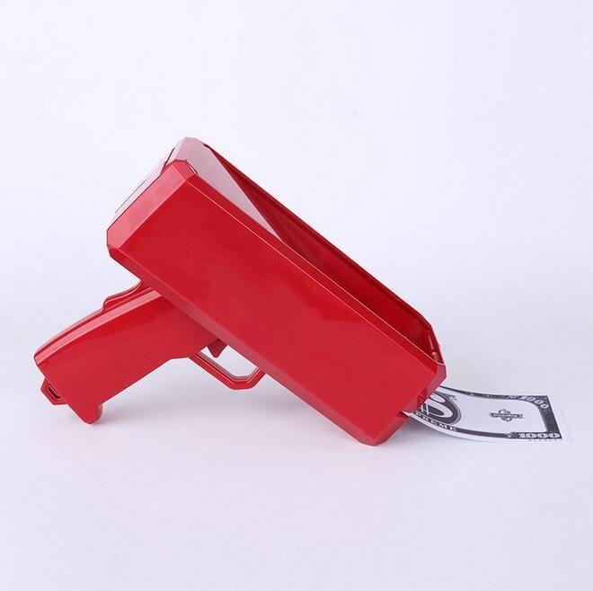 Máscaras De Party Dinheiro Elétrico Pulverizador de Pistola Creative Shooter Sprinkler Toy