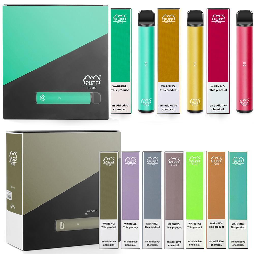 800 Puffs Puf Bar Artı 3.2 ml 550 mAh Pil Buhar Pod E Elektronik Sigara Tek Kullanımlık Vape Pen Puf Plus XXL