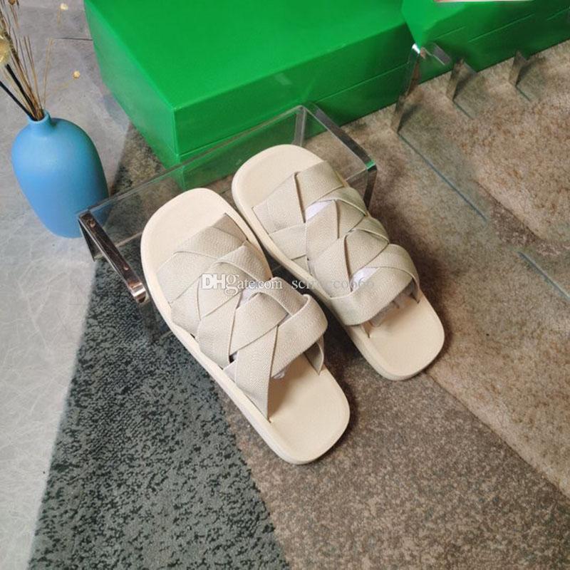 Fahsion Frauen Elastische Hausschuhe Sommer Damen Klassiker Flip Flops Müßiggänger Damen Gurtband Mules Slides Schuhe Outdoor Flache Sohle Slide Sandale
