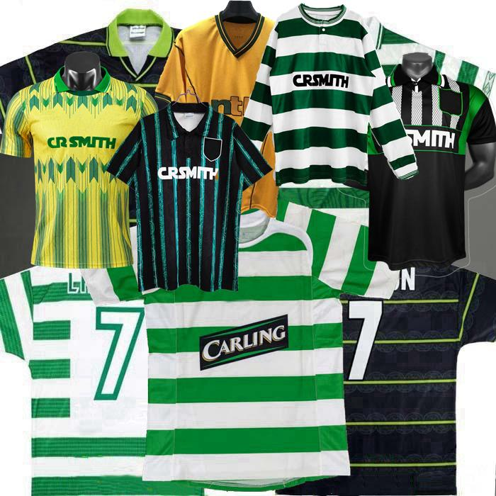 Jerseys de futebol 1984 85 86 87 88 89 1991 1992 1993 1994 1995 1996 97 98 99 2000 01 02 2005 2006 Retro Celtic Larsson Nakamura Camisas de futebol vintage clássico