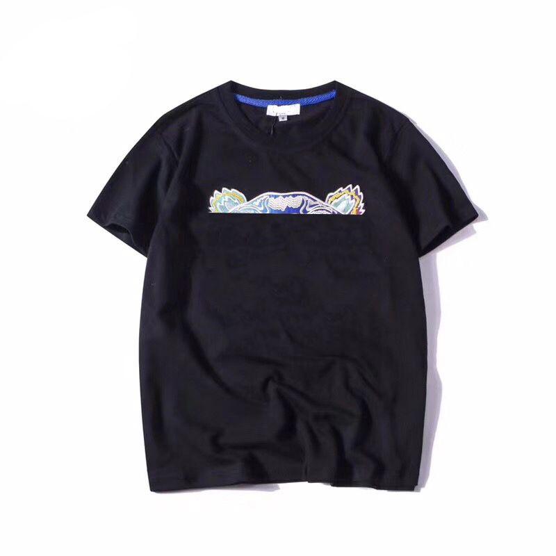 Sommer Herren Frauen T-Shirt Mode T-Shirt Unisex Atmungsaktive Lose Kurzarm Kopf Muster Stickerei Buchstaben Tops T Shirts 22 Farben