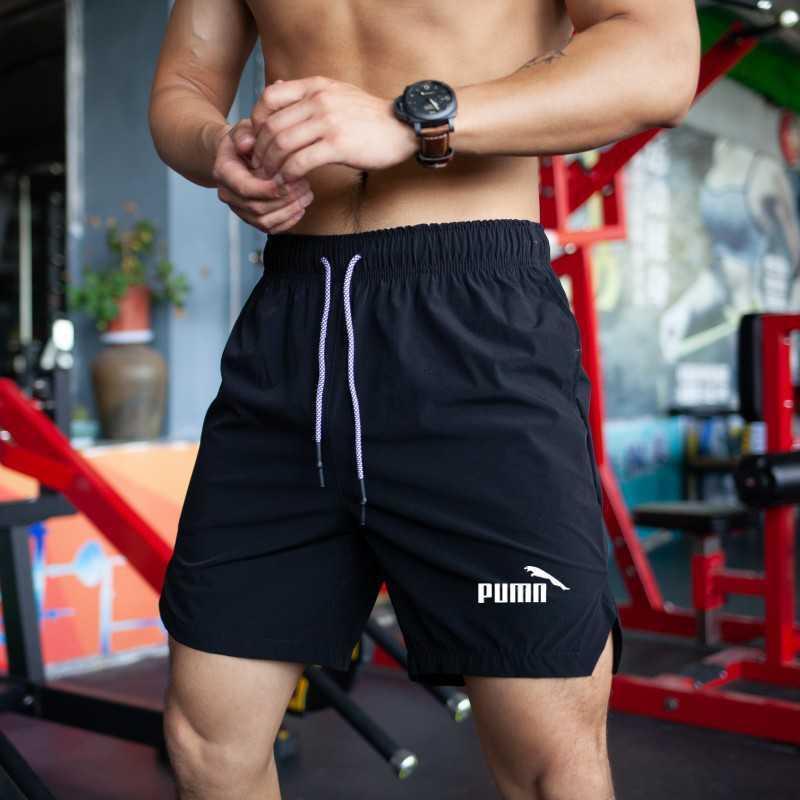 Hombres de alta calidad respirando deporte rápido correr gimnasio gimnasio shorts's shorts436v436v
