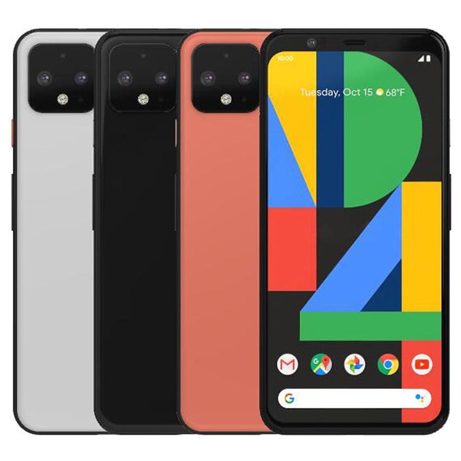 Original Refurbished Google Pixel 4 XL 6.3 inch Octa Core 6GB RAM 64GB 128GB ROM 16MP Unlocked 4G LTE Smart Phone DHL 1pcs