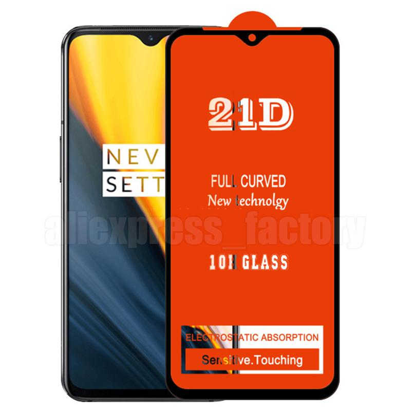 21D Tam Tutkal Ekran Koruyucu Temperli Cam Koruyucu Kavisli Kapsama Guard Film Kapak Kalkanı için Tecno Camon 17 16 Premier Spark 7 Pro 6 GO POVA POP 5 4 3 Smart HD