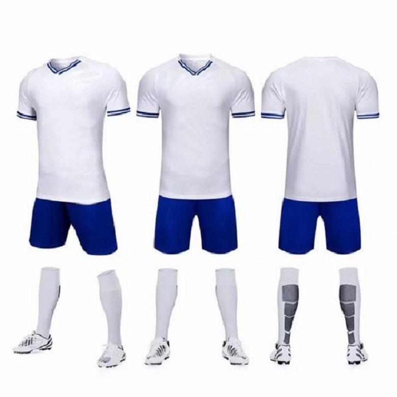 1656778Shion 11 Jerseys em branco de equipe, costume, treinamento futebol usa manga curta correndo com shorts 00015