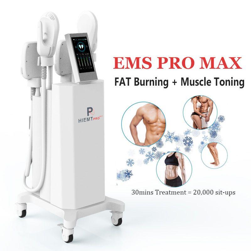 클리닉 사용 HIEMT 슬리밍 전자기 근육 자극 기계 EMS 바디 컨투어링 안티 셀룰 라이트 근육 자극제 토닝