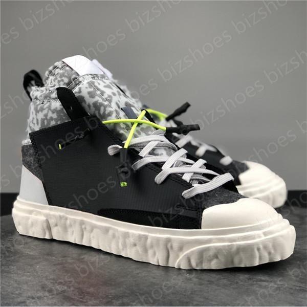 Blazer Mid Schuhe Travis Designer Casual Shoe Black White Outdoor Sports Sneakers Readymaty Skateboard Sneaker