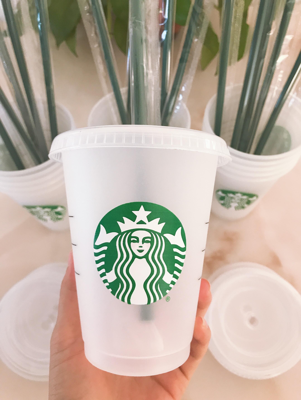 Starbucks Kupa 16 oz, 24 oz Tumblers Bardaklar Plastik Dudak ve Saman ile Plastik İçme Suyu Sihirli Kahve Kostiyeti Şeffaf Kupası 50 adet DHL Taşıma