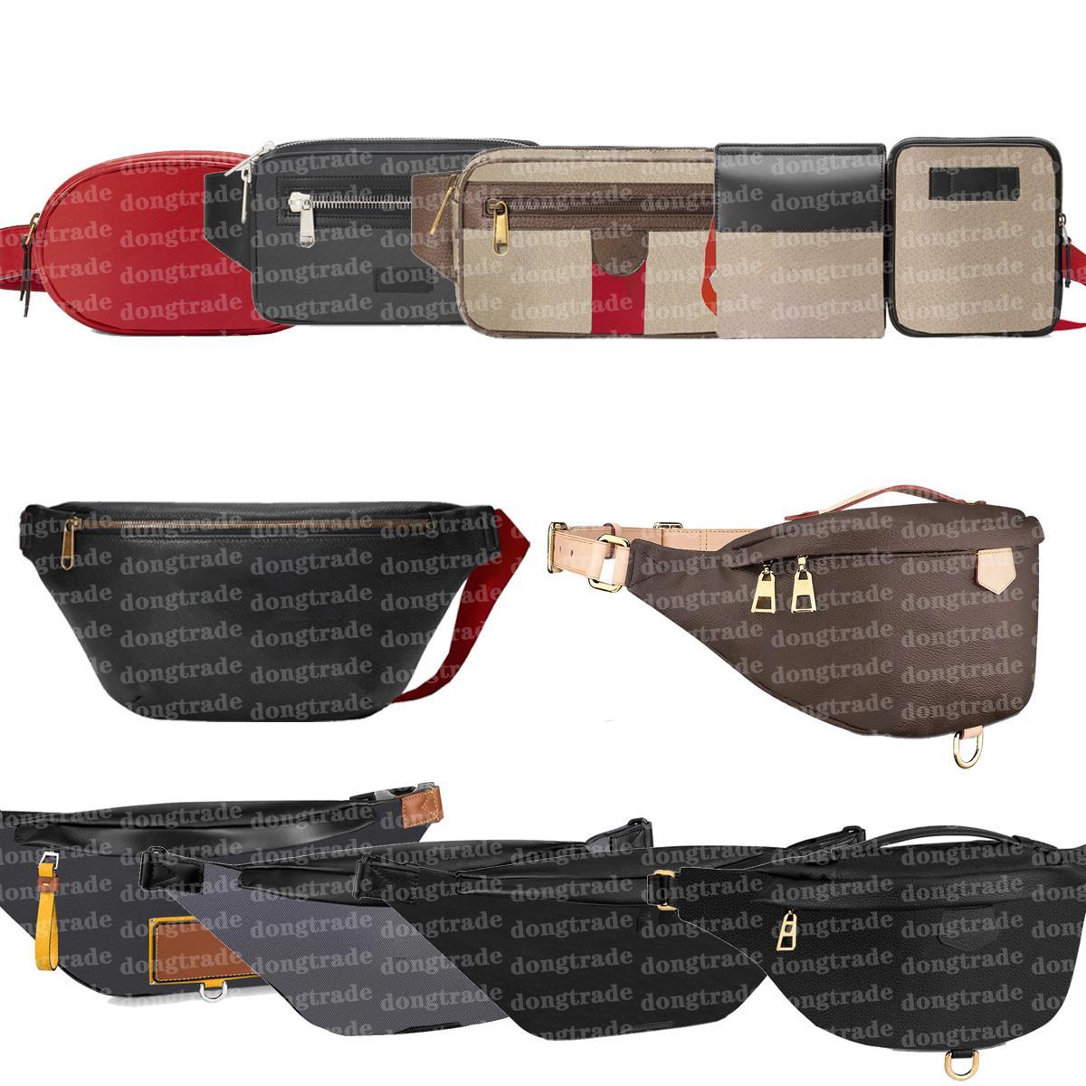 Bel Çanta Tasarımcısı Fanny Paketi Crossbody Omuz Bumbag Kemer Çantası Bum Çanta Erkek Bayan Deri Tasarımcılar Fannypack