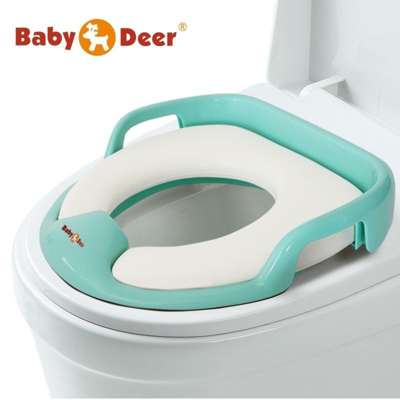 British baby deer children's toilet ring baby toilet pad baby toilet