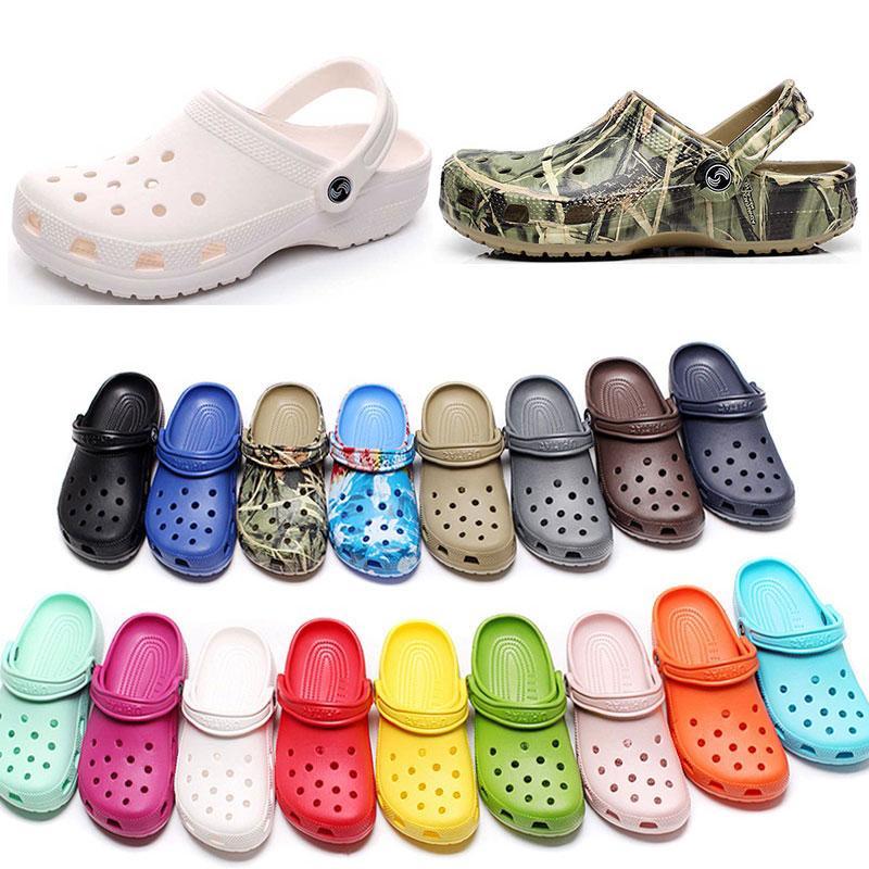 캐주얼 해변에서 여자 패션 슬립 방수 신발 남성 클래식 간호 절단 병원 여성 슬리퍼 작업 의료 샌들 90 5