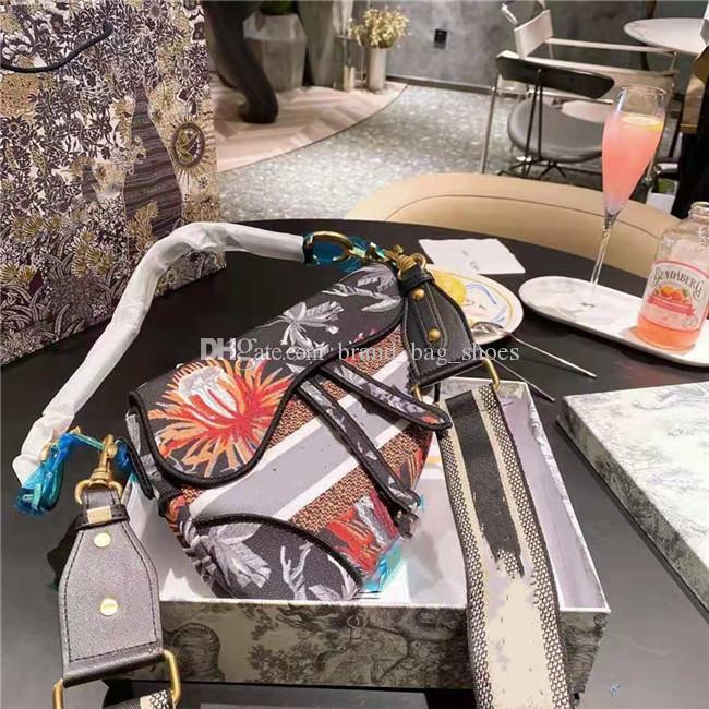 2021 حقيبة السرج رائعة مصمم السيدات حقائب اليد جودة عالية الكتف أكياس قطري المحمولة متعددة الألوان شخصية اختيارية حقيبة يد عارضة الحديثة
