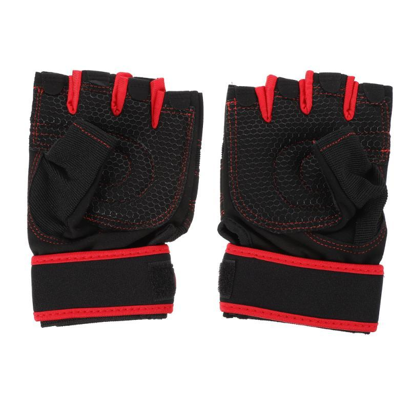 Cycling Gloves 1 Pair Breathable Sports Gym Anti-skid Protective